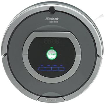 iRobot Roomba 782 Staubsaug-Roboter (Raum-zu-Raum Funktion, Füllstandanzeige) grau